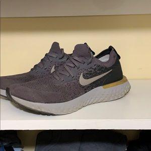 Nike Epic React Flynit - thunder grey
